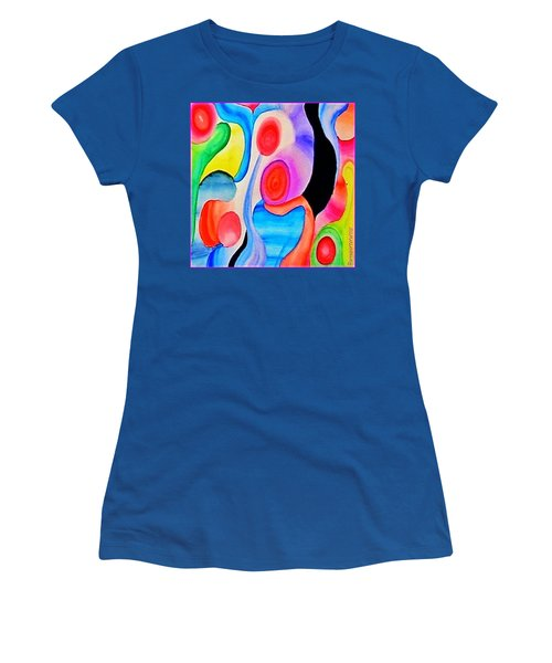 Abstract Peacock Women's T-Shirt