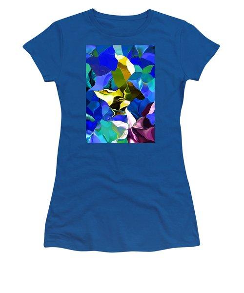 Afternoon Doodle 020215 Women's T-Shirt (Junior Cut) by David Lane