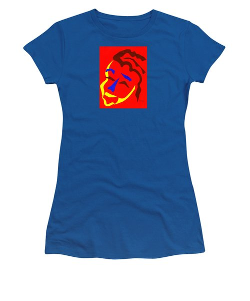 Women's T-Shirt (Junior Cut) featuring the digital art Annalyn by Delin Colon