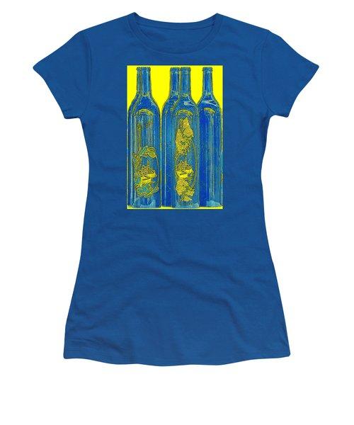 Antibes Blue Bottles Women's T-Shirt