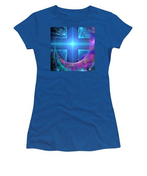 Approaching The Portal Women's T-Shirt (Junior Cut) by Svetlana Nikolova