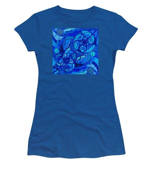 Arcturian Calming Grid Women's T-Shirt