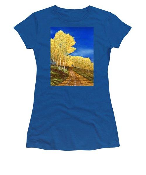 Aspen Road Women's T-Shirt (Athletic Fit)