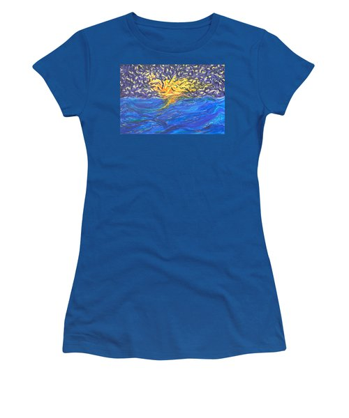 At Sea Women's T-Shirt (Athletic Fit)