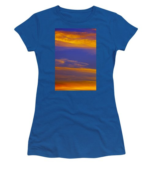 Autumn Sky Portrait Women's T-Shirt (Athletic Fit)