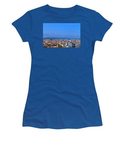 Barcelona Skyline Women's T-Shirt