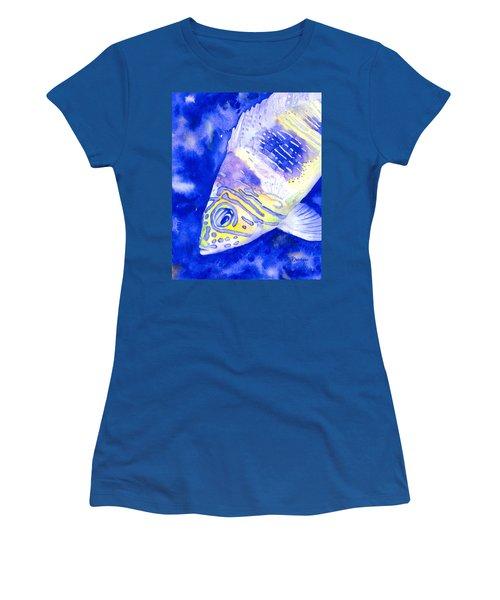 Barred Hamlet Portrait Women's T-Shirt (Athletic Fit)