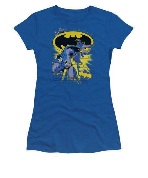 Batman Bb - Action Collage Women's T-Shirt