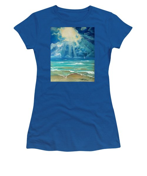 Beach Women's T-Shirt (Athletic Fit)