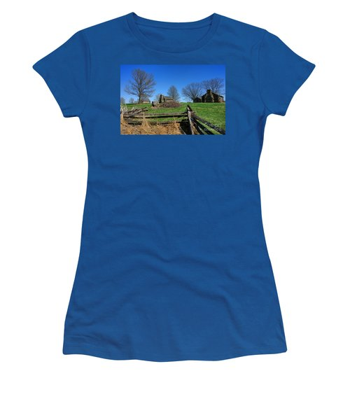 Behind The Fences  Women's T-Shirt