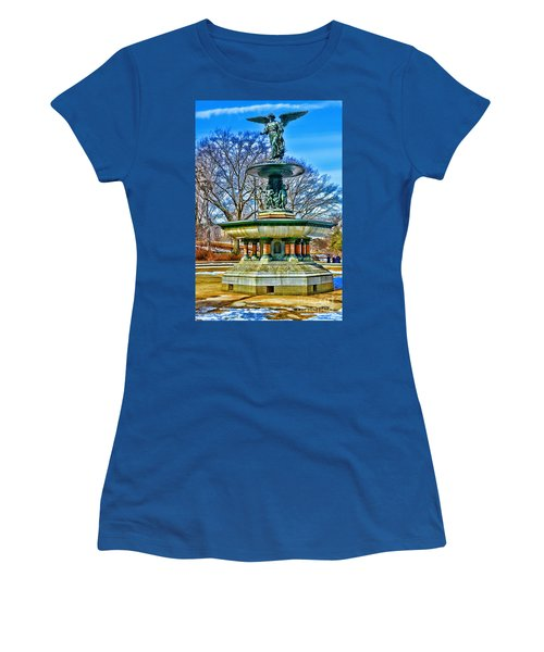Bethesda Fountain - Angel Of The Waters Women's T-Shirt