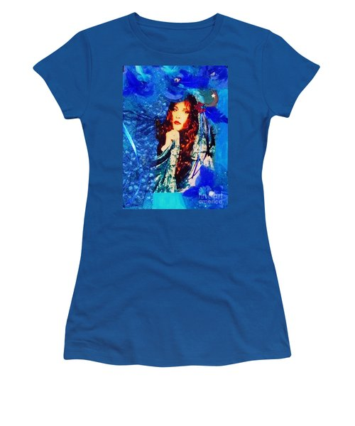 Bewitched In Blue Women's T-Shirt (Athletic Fit)