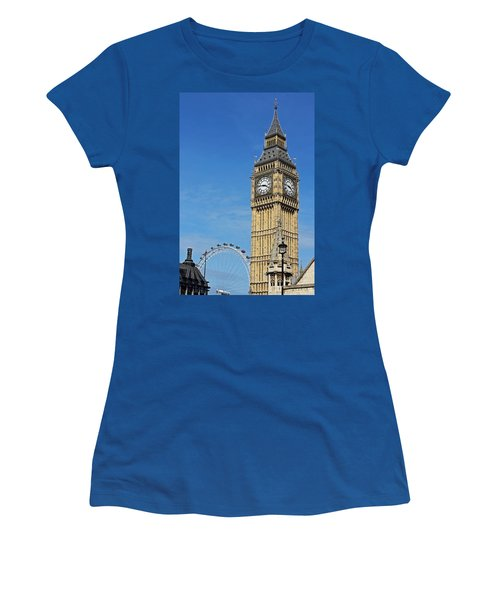 Big Ben And London Eye Women's T-Shirt