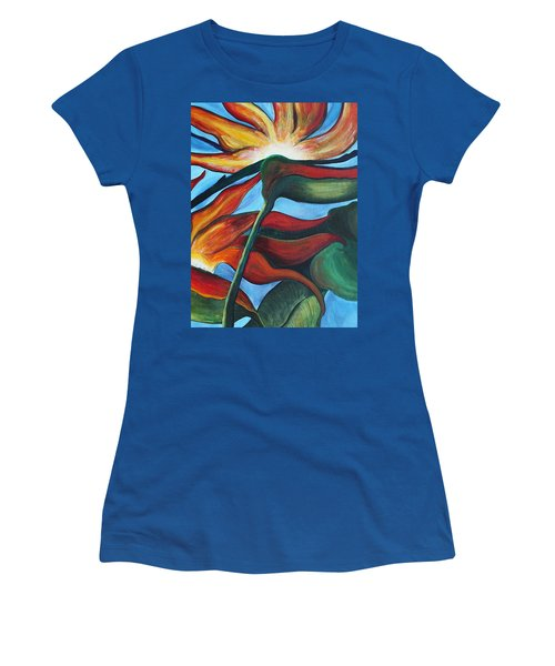 Bird Of Paradise Women's T-Shirt (Athletic Fit)