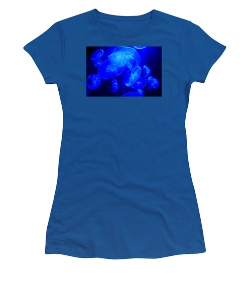 Blue Moon Jellies Women's T-Shirt (Athletic Fit)