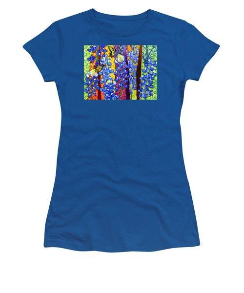 Bluebonnet Garden Women's T-Shirt