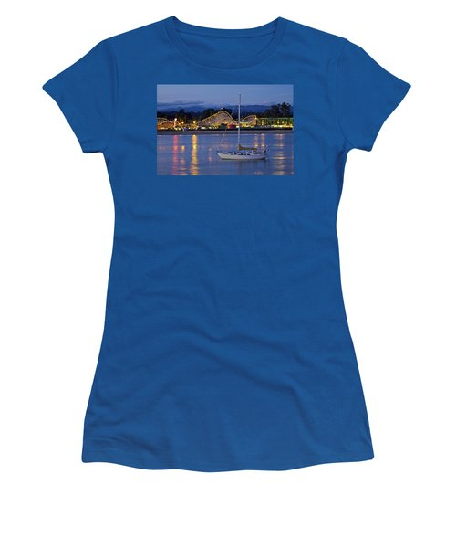 Boat At Twilight Women's T-Shirt