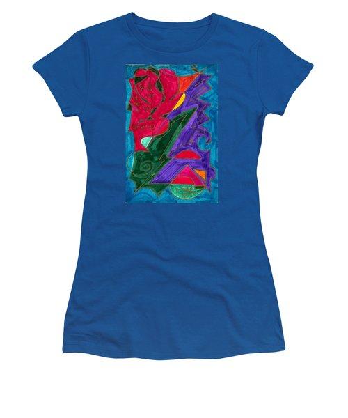 Body Zero # 5 Women's T-Shirt (Junior Cut) by Clarity Artists