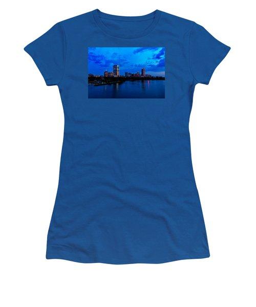 Boston Evening Women's T-Shirt (Athletic Fit)