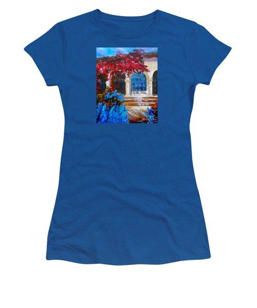 Bouganvellea Hacienda Women's T-Shirt (Athletic Fit)