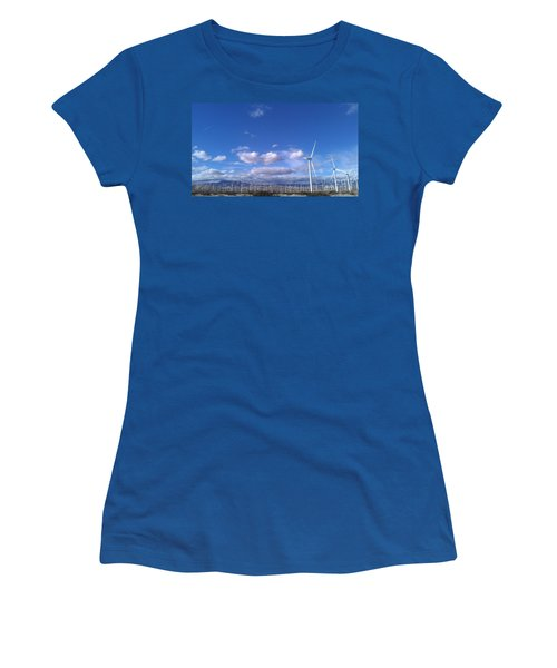 Women's T-Shirt (Junior Cut) featuring the photograph Breeze by Chris Tarpening