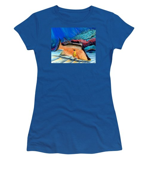 Bull Hogfish Women's T-Shirt (Athletic Fit)