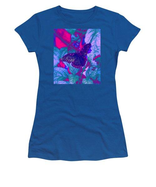Butterfly  Women's T-Shirt (Junior Cut) by David Mckinney