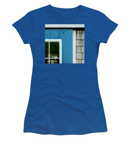 Old Door In Blue Women's T-Shirt
