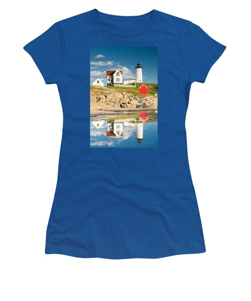 Cape Neddick Light  Reflections Women's T-Shirt