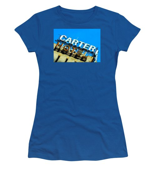 Carter Hotel Sign Women's T-Shirt
