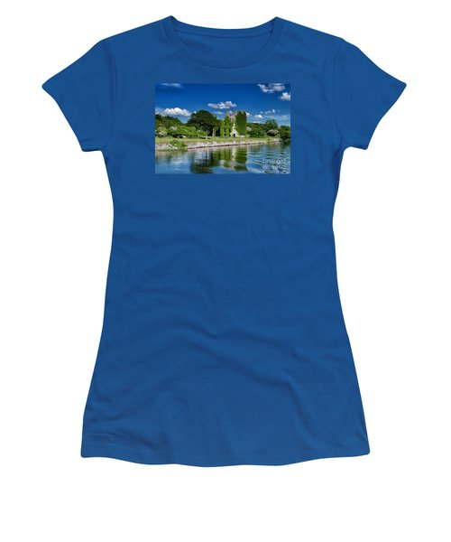 Castle Menlo  Women's T-Shirt (Junior Cut) by Juergen Klust