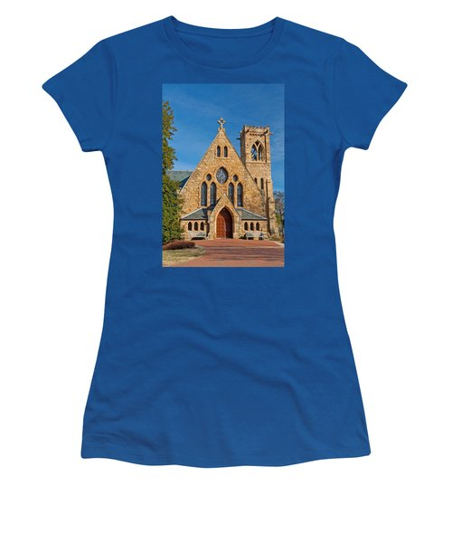 Chapel At Uva Women's T-Shirt (Athletic Fit)