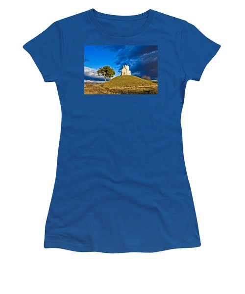 Chapel On Green Hill Nin Dalmatia Women's T-Shirt (Athletic Fit)