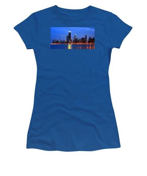 Chicago Dusk Skyline Hancock Women's T-Shirt