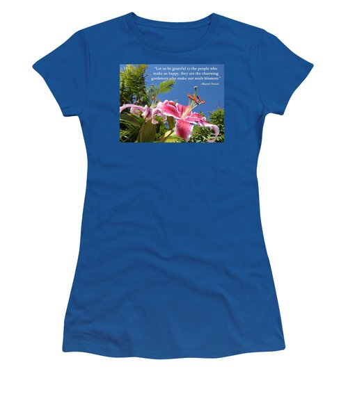 Choose Your Quote Choose Your Picture 17 Women's T-Shirt