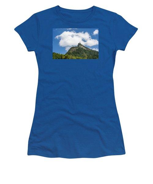 Christ Redeemer On Top Of Morro Women's T-Shirt
