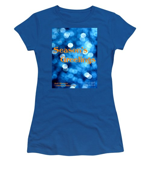 Christmas Cards And Artwork Christmas Wishes 84 Women's T-Shirt
