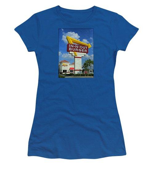Classic Cali Burger 1.1 Women's T-Shirt (Athletic Fit)