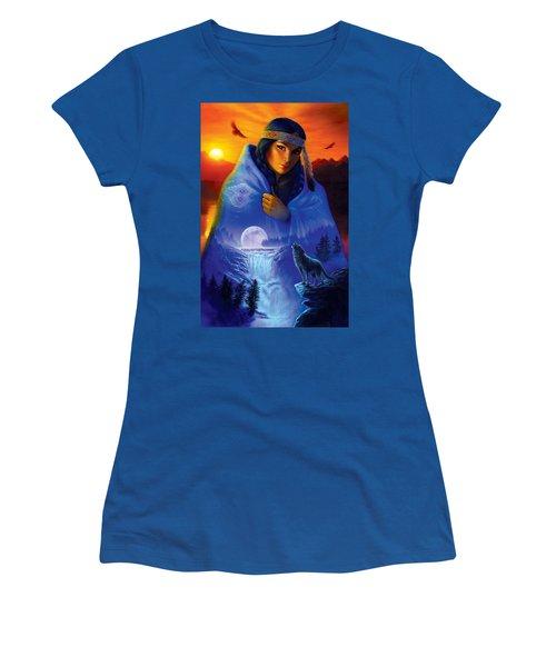 Cloak Of Visions Portrait Women's T-Shirt