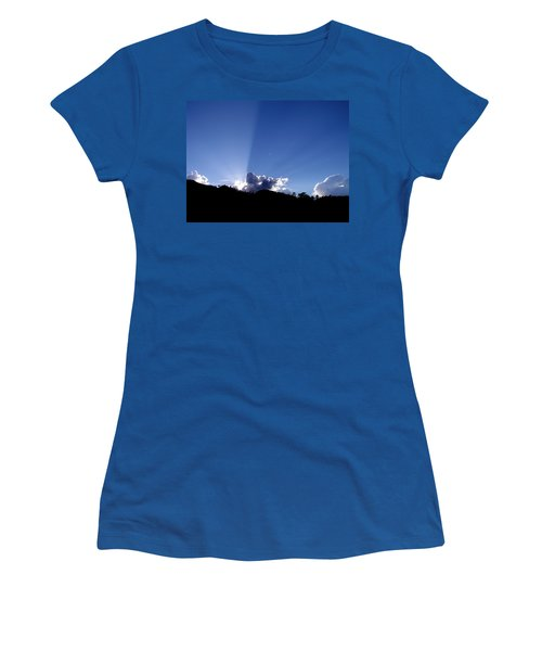 Cloud Rays Women's T-Shirt (Athletic Fit)