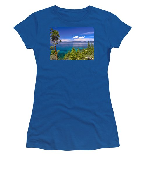 Clouds And Silence - Lake Tahoe Women's T-Shirt