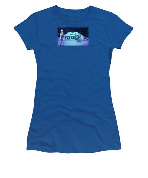 Women's T-Shirt (Junior Cut) featuring the photograph Clown Tent by Nareeta Martin
