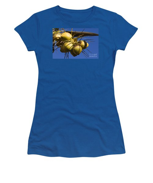 Women's T-Shirt (Junior Cut) featuring the photograph Coconut 1 by Teresa Zieba