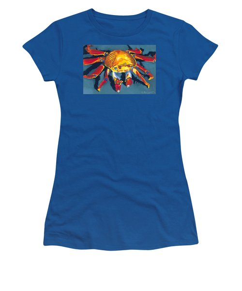 Colorful Crab Women's T-Shirt (Athletic Fit)
