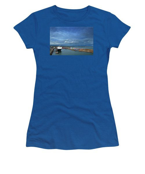 Container Docks At The Mouth Women's T-Shirt
