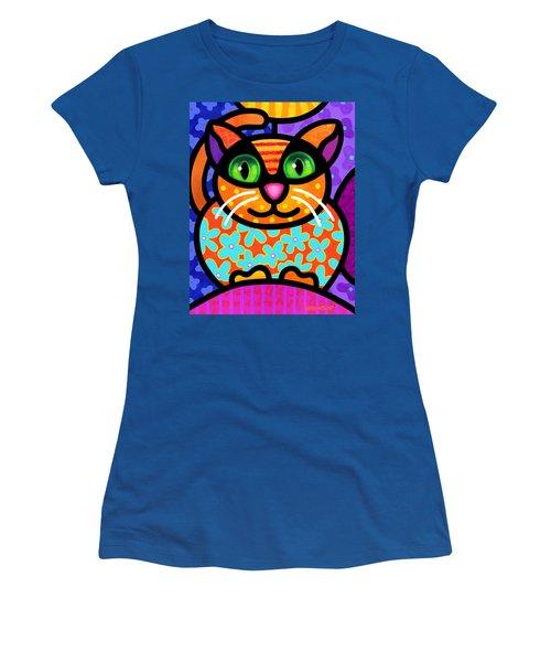 Contented Cat Women's T-Shirt
