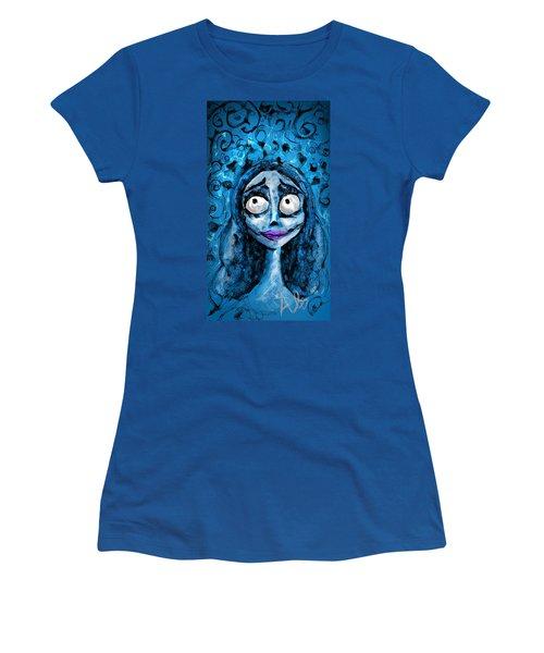 Corpse Bride Phone Sketch Women's T-Shirt