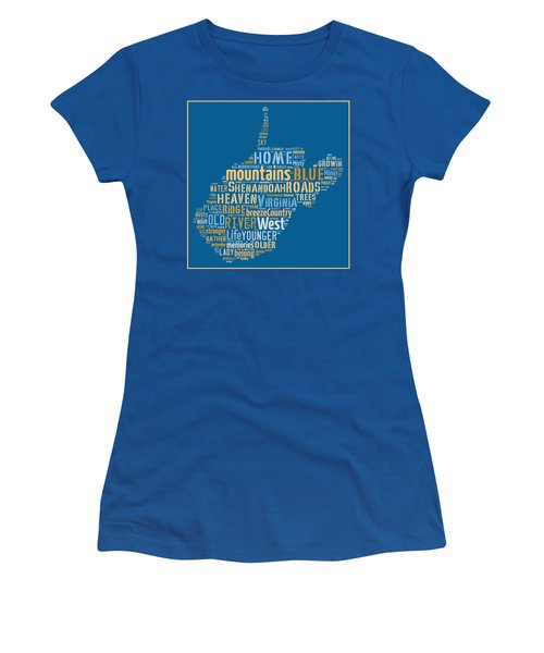 Country Roads 3 Women's T-Shirt (Athletic Fit)