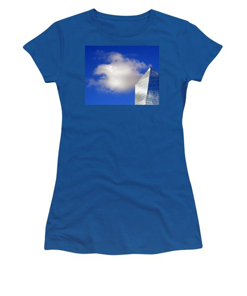 Women's T-Shirt (Junior Cut) featuring the photograph Cumulus And Cira by Lisa Phillips