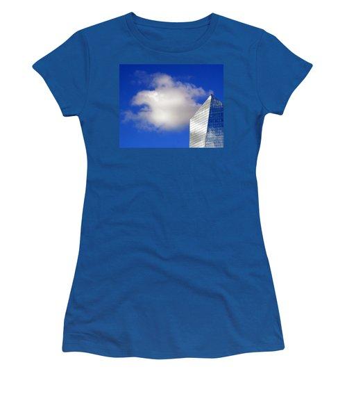 Cumulus And Cira Women's T-Shirt (Junior Cut) by Lisa Phillips